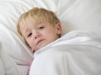 Sick little kid